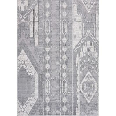 Portland Orford Gray 7 ft. x 10 ft. Area Rug