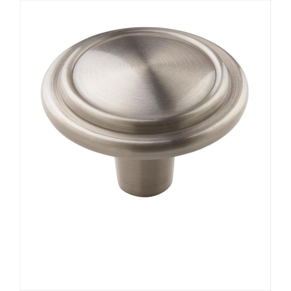 Allison Value 1-1/4 in. (32 mm) Satin Nickel Cabinet Knob (25-Pack)