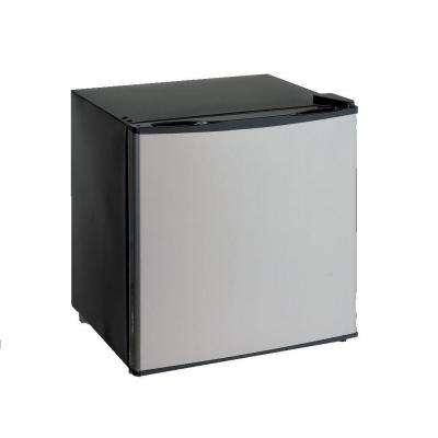 1.4 cu. ft. Dual Mini Fridge/Freezer in Stainless