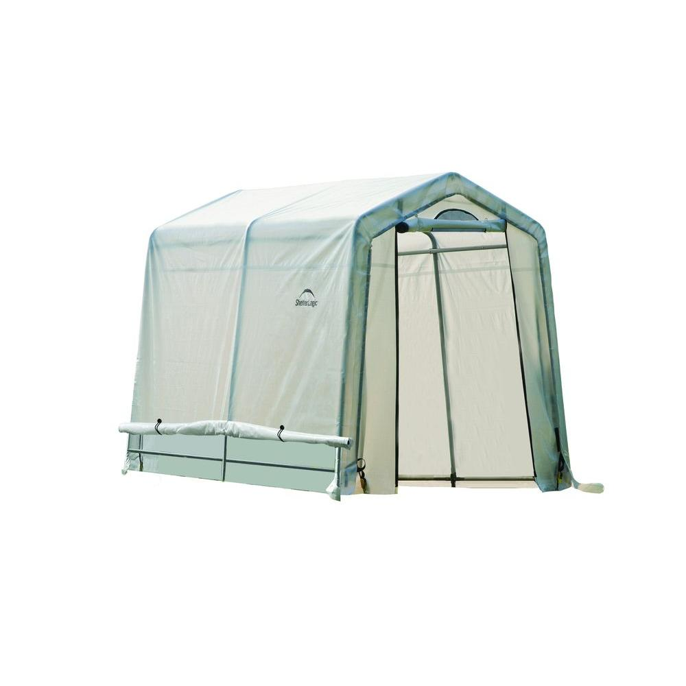 ShelterLogic GrowIt 8 ft. x 6 ft. x 6 ft. 6 in. Greenhouse-in-a-Box