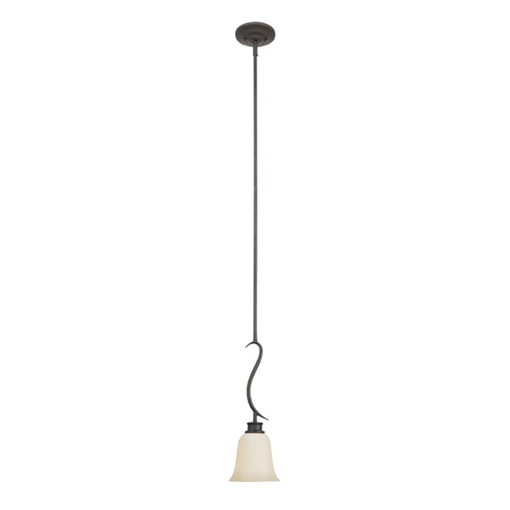 Montreal 1-Light Oil-Rubbed Bronze Hanging Mini Pendant