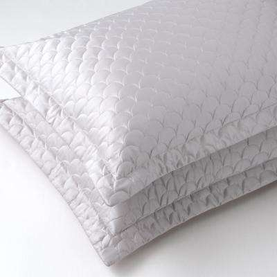 Silver Cloud Queen Quilted Pillow Sham