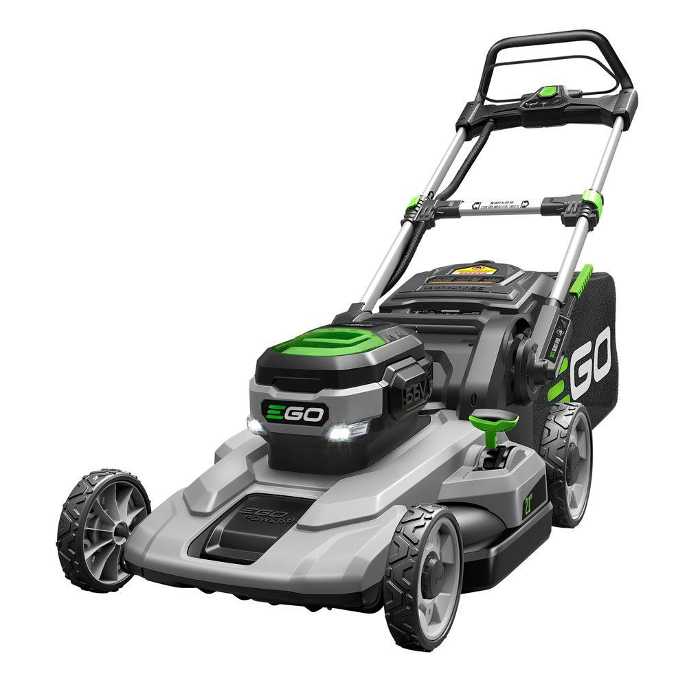 EGO 21 in. 56-Volt Lithium-ion Cordless Battery Push Mower with 5.0Ah Battery and Charger Included