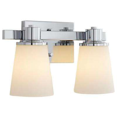 vanity lighting. 2light chrome bath vanity light with bell shape etched white glass lighting
