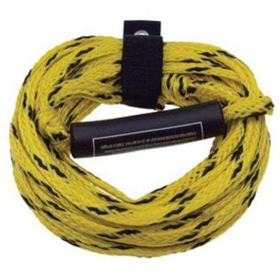 60 ft. 2 Rider Tow Rope with Inflatable Float and Wrap