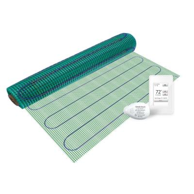 2 ft. x 36 in. 120-Volt Floor Heating Kit TempZone Flex Roll with Touch Screen Thermostat