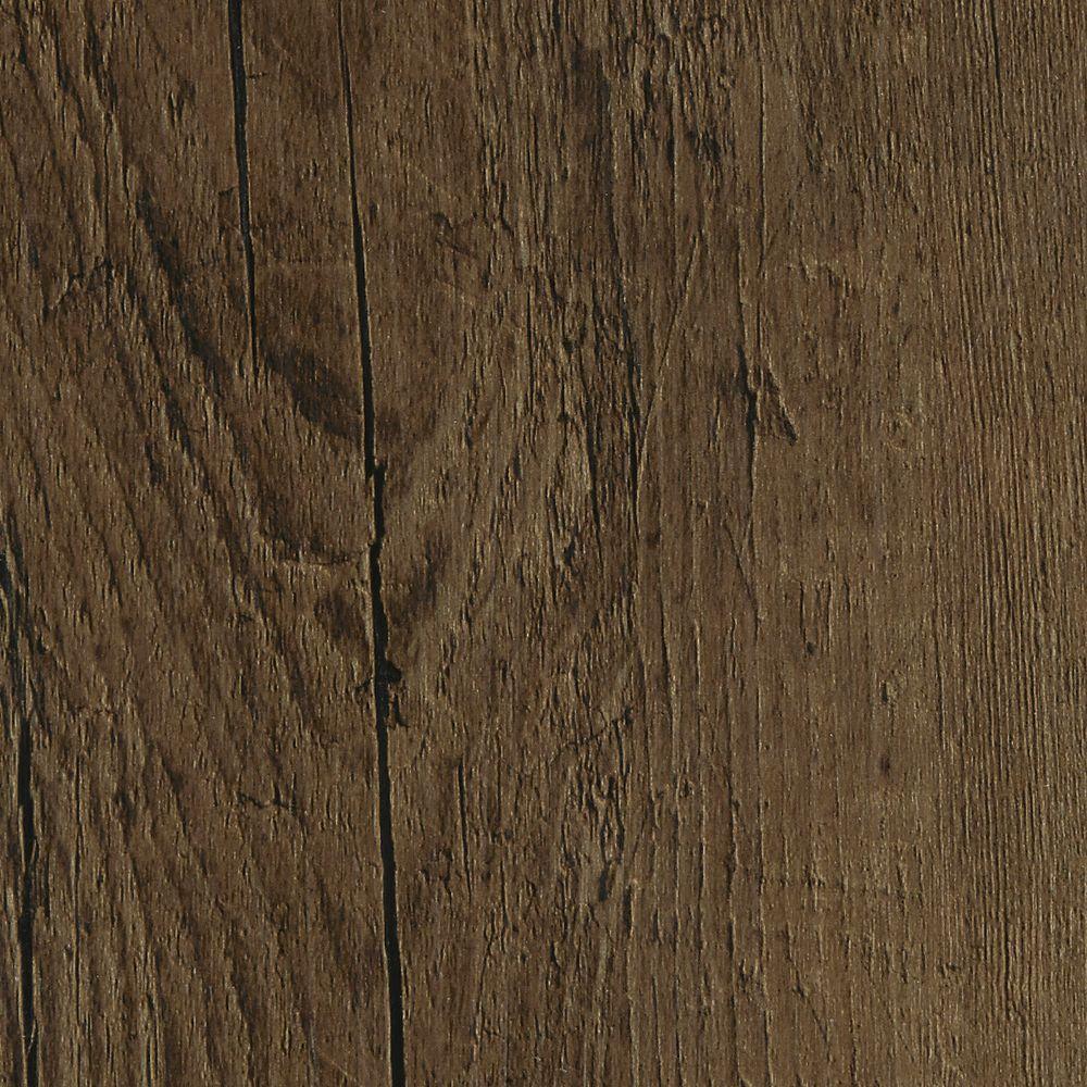 Embossed Oak Chestnut 7 in. Wide x 48 in. Length Click Lock Luxury Vinyl Plank (23.36 sq. ft. / case)