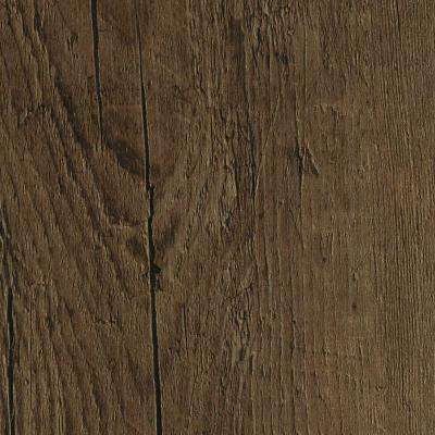 Embossed Oak Chestnut 7 in. Wide x 48 in. Length Click Lock Luxury Vinyl Plank (23.36 sq. ft. / case)
