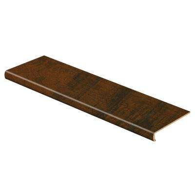 Antique Cherry 47 in. L x 12-1/8 in. D x 1-11/16 in. H Laminate to Cover Stairs 1-1/8 in. to 1-3/4 in. Thick