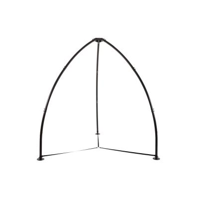8.5 ft. Tripod Steel Frame Outdoor Hammock Chair Stand in Black