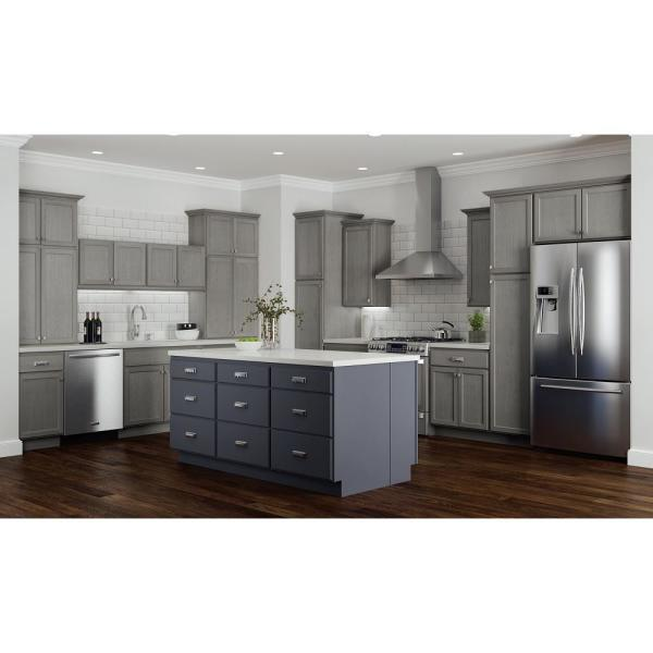 Hampton Bay Hampton Assembled 36x30x12 In Wall Kitchen Cabinet In Unfinished Beech Kw3630 Ufdf The Home Depot
