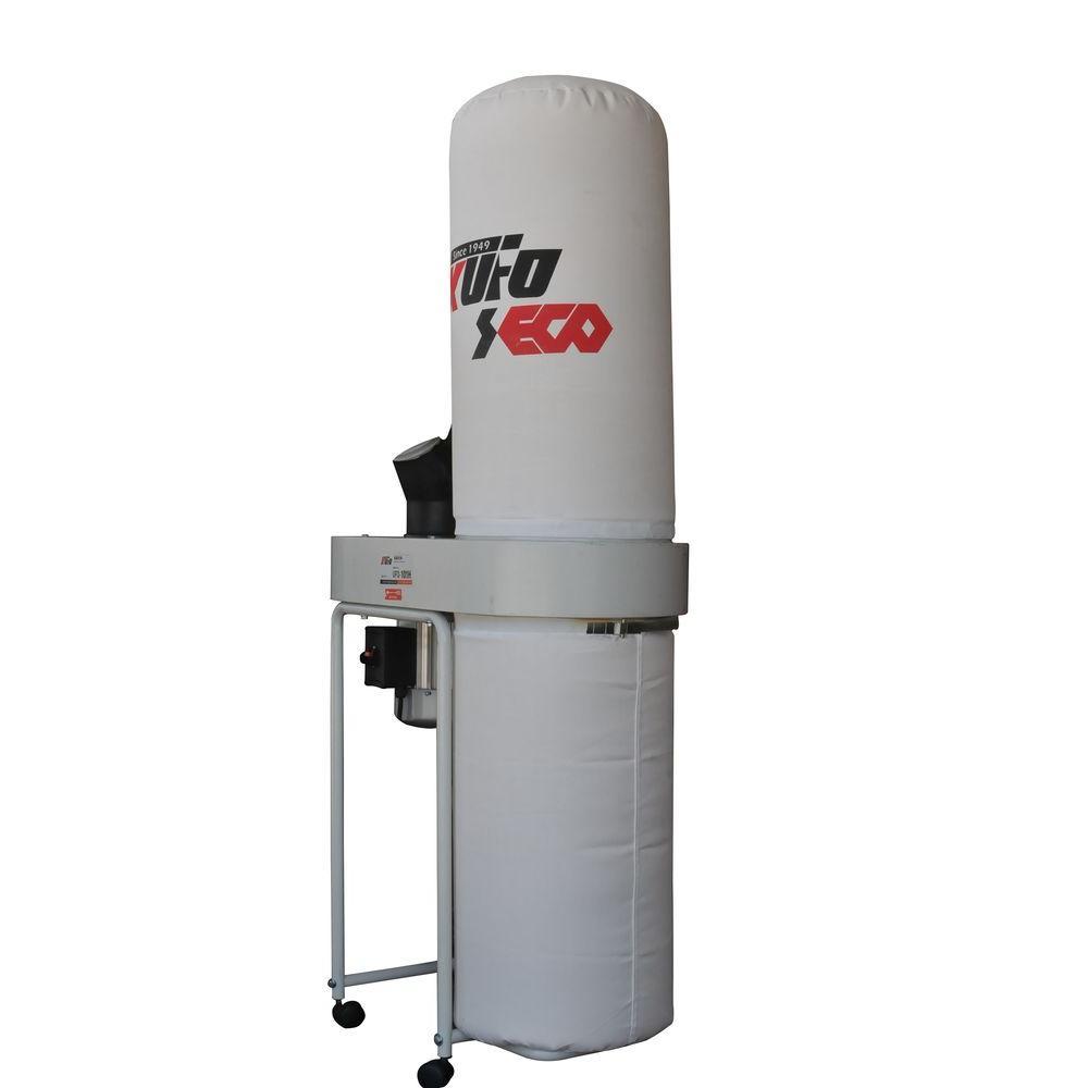 Kufo Seco 2 HP 1550 CFM 1-Phase 220-Volt Vertical Bag Dust Collector