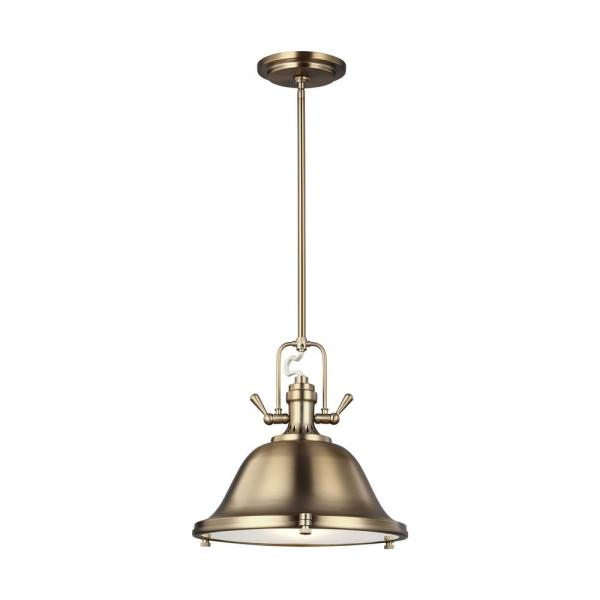 Stone Street 3-Light Satin Bronze Pendant