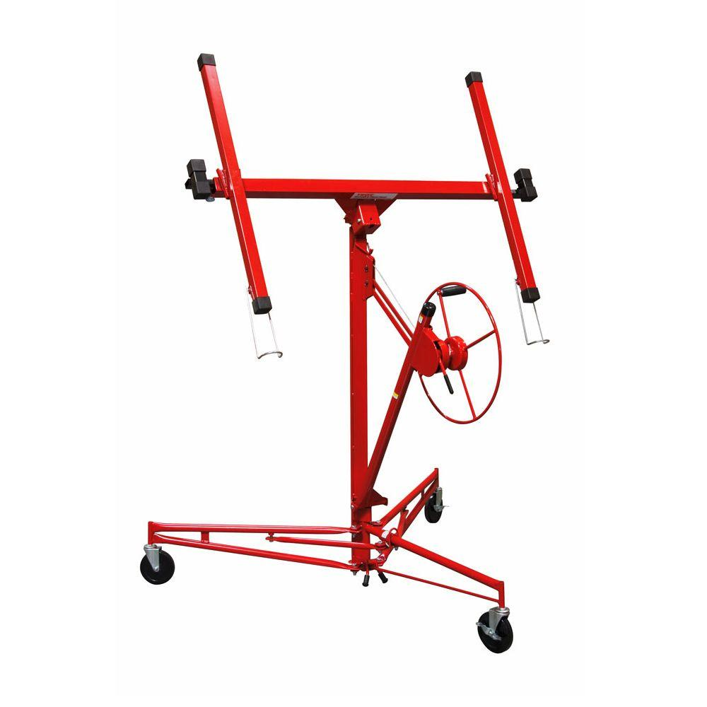 Troy Professional Drywall And Panel Hoist Dph11 The Home Depot