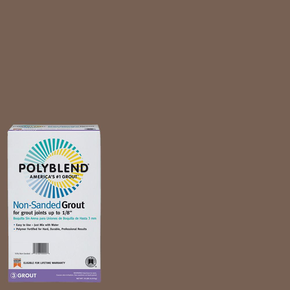 Custom Building Products Polyblend #52 Tobacco Brown 10 lb. Non-Sanded Grout