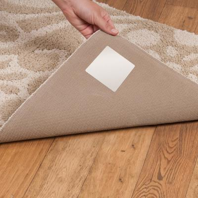 Stay N' Place 4 in. x 4 in. Rug Tabs (4-Pack)