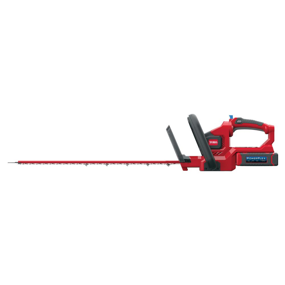 Toro PowerPlex 24 in. 40-Volt Max Lithium-Ion Cordless Hedge Trimmer