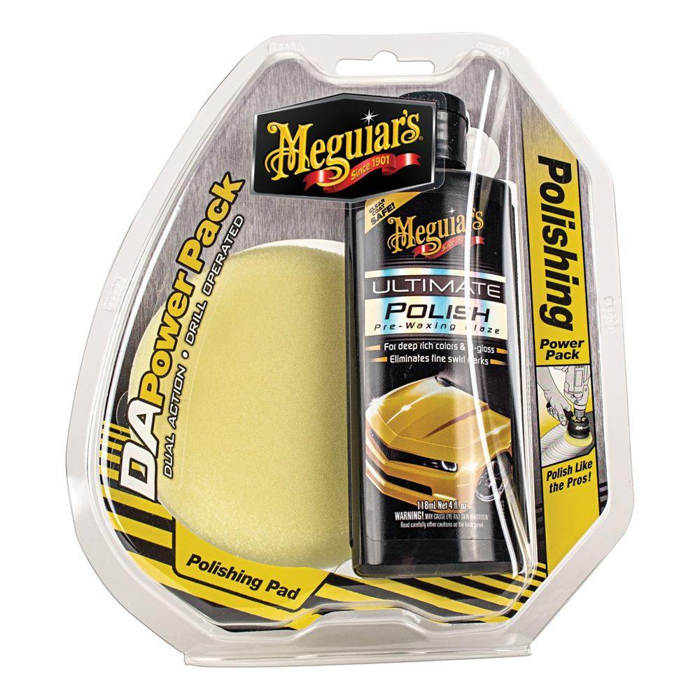 Meguiar's DA Polishing Power Pack