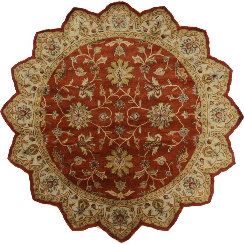Artistic Weavers Franklin Terracotta 8 Ft X Star A