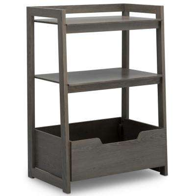 Universal Crafted Grey Small Ladder Shelf