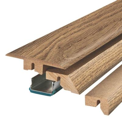 Honeysuckle Oak 3/4 in. Thick x 2-1/8 in. Wide x 78-3/4 in. Length Laminate 4-in-1 Molding