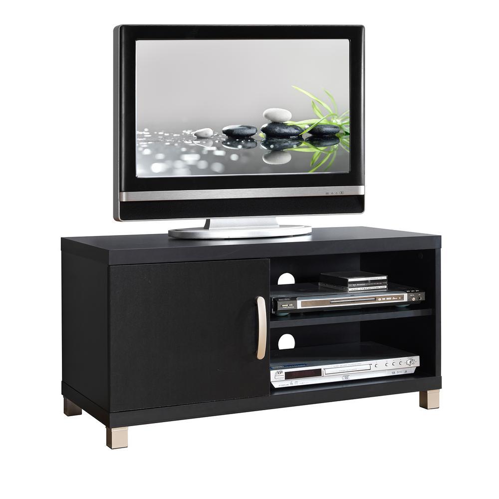 Foto Mobili Tv.Techni Mobili Black Modern Tv Stand With Storage For Tvs Up