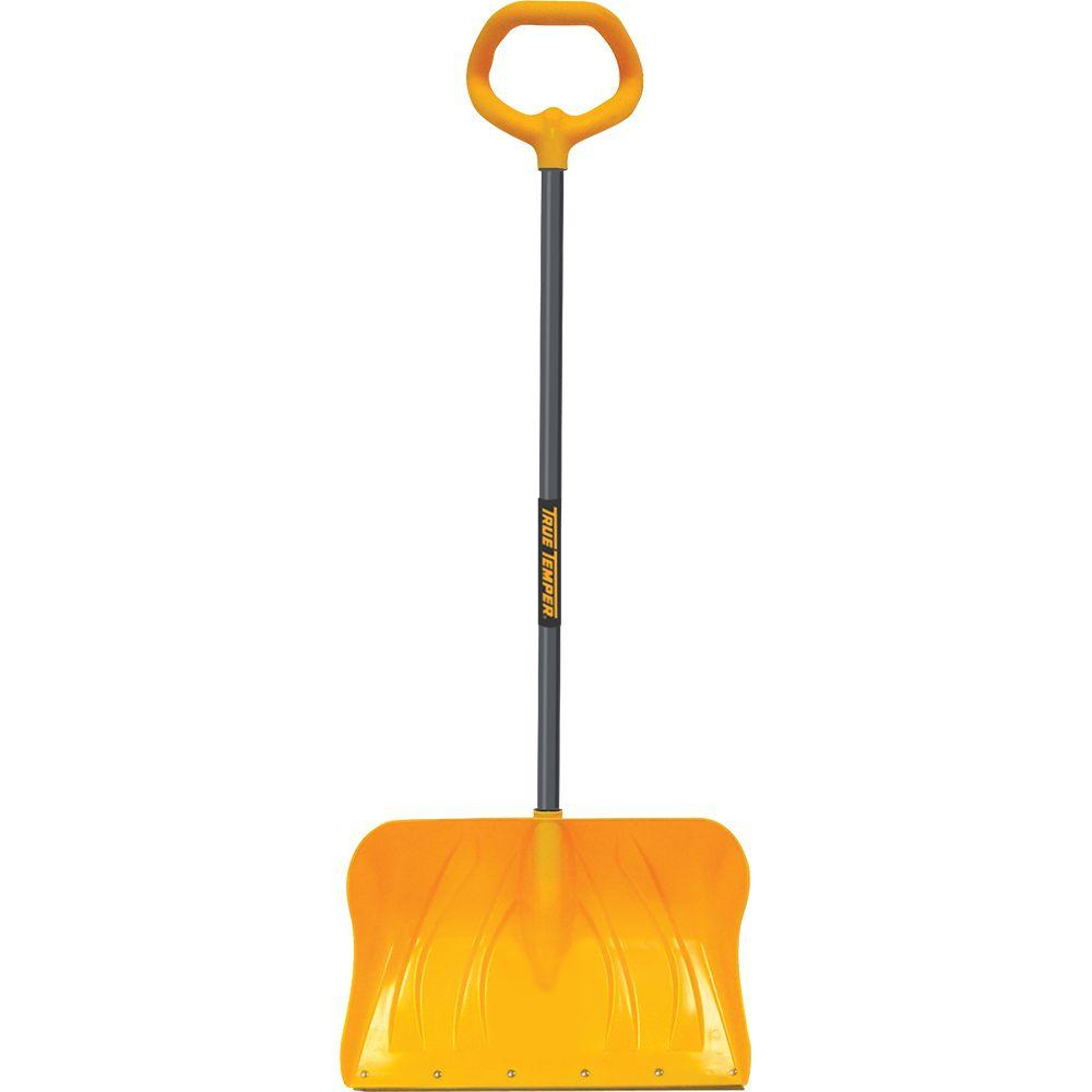 True Temper 20 in. Poly Combo Snow Shovel