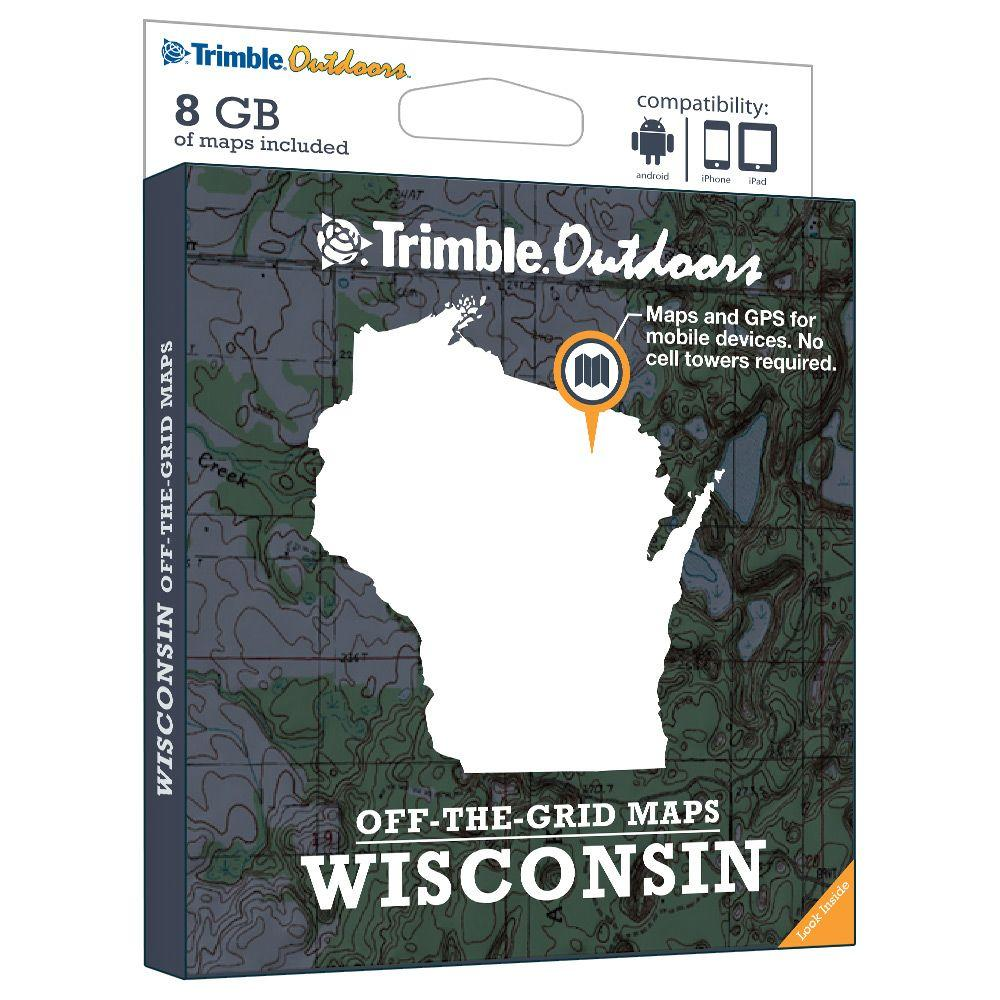 Trimble Outdoors West Virginia Off-The-Grid Maps