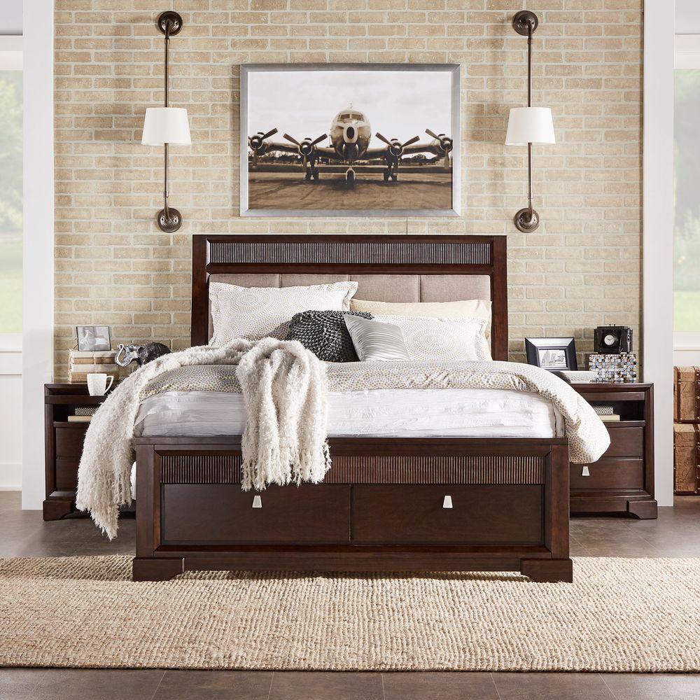 Nichols 3-Piece Brown Queen Bedroom Set