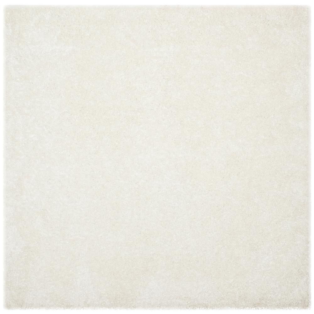 Safavieh Malibu Shag White 7 Ft X 7 Ft Square Area Rug