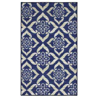 Catarina Blue 2 ft. x 3 ft. Area Rug