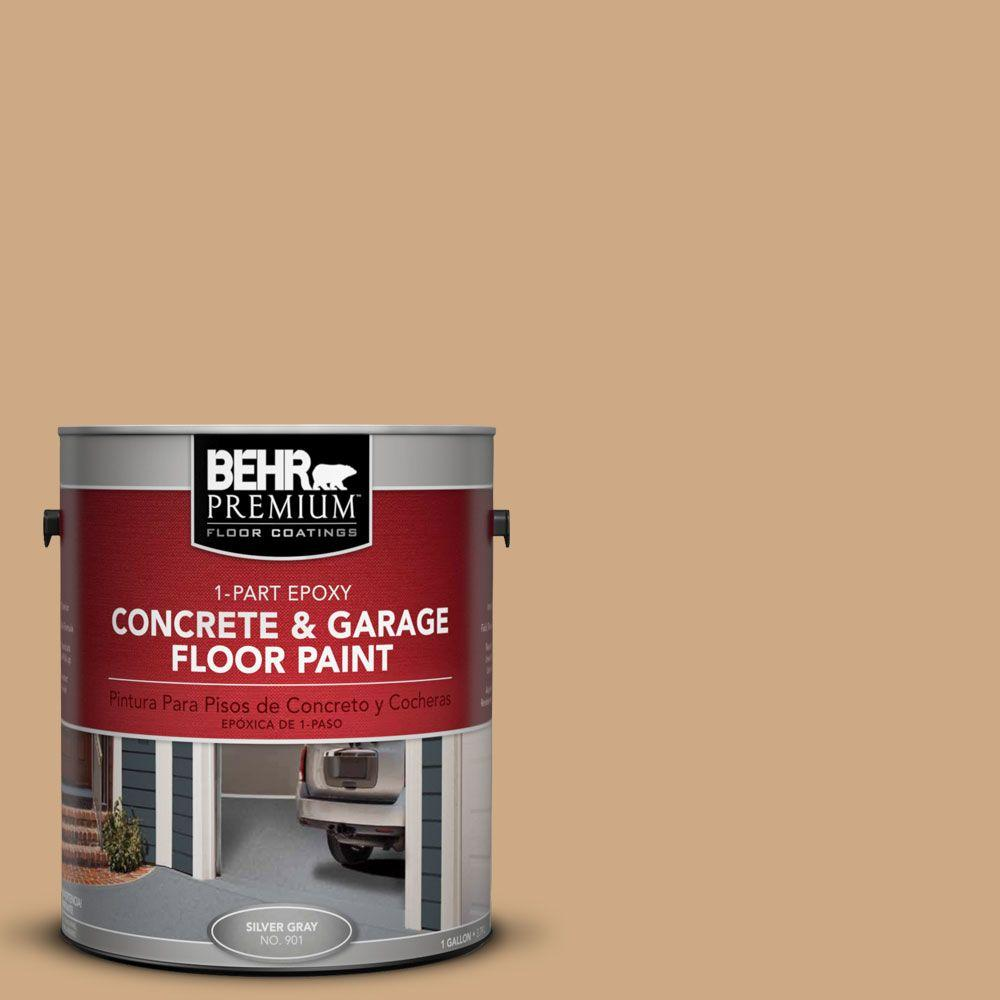 BEHR Premium 1-Gal. #PFC-22 Cold Lager 1-Part Epoxy Concrete and Garage Floor Paint