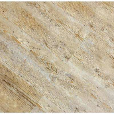 HydroStop Caribbean Beach Floor&Wall 7.2 in. W x 48 in. L Rigid Core SPC Click Floating Vinyl Plank (24.00 sq.ft. /case)