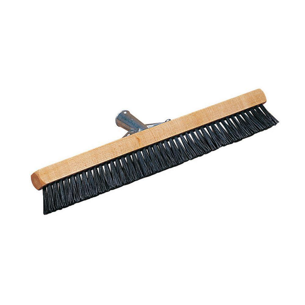 18 in. Nylon Pile Brush with Black Bristles (Case of 12)
