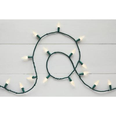150-Light C6 LED Warm White String Lights