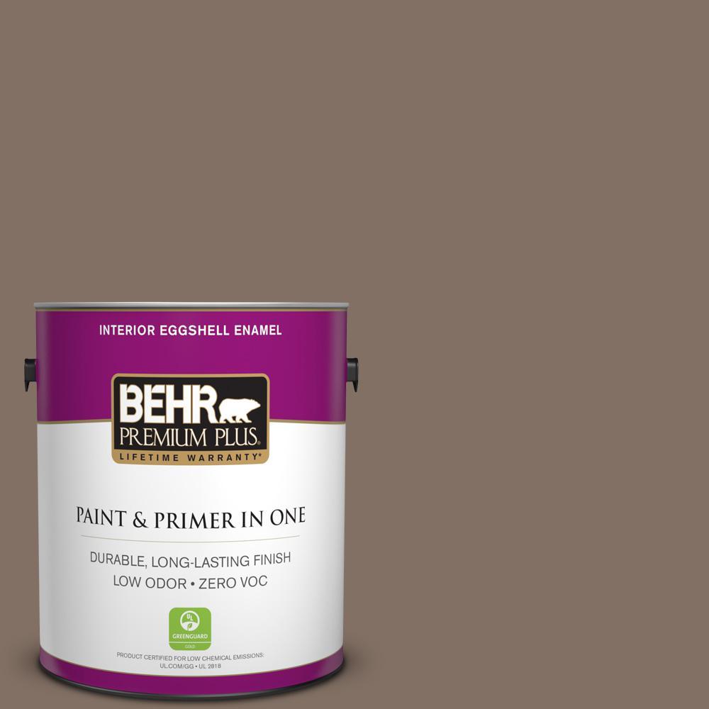 1 gal. #PPU5-17 Cardamom Spice Zero VOC Eggshell Enamel Interior Paint