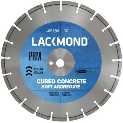 Premium CW20 Series Wet Cut Diamond Blade for Cured Concrete 12 in. x 0.375 x 1 in.