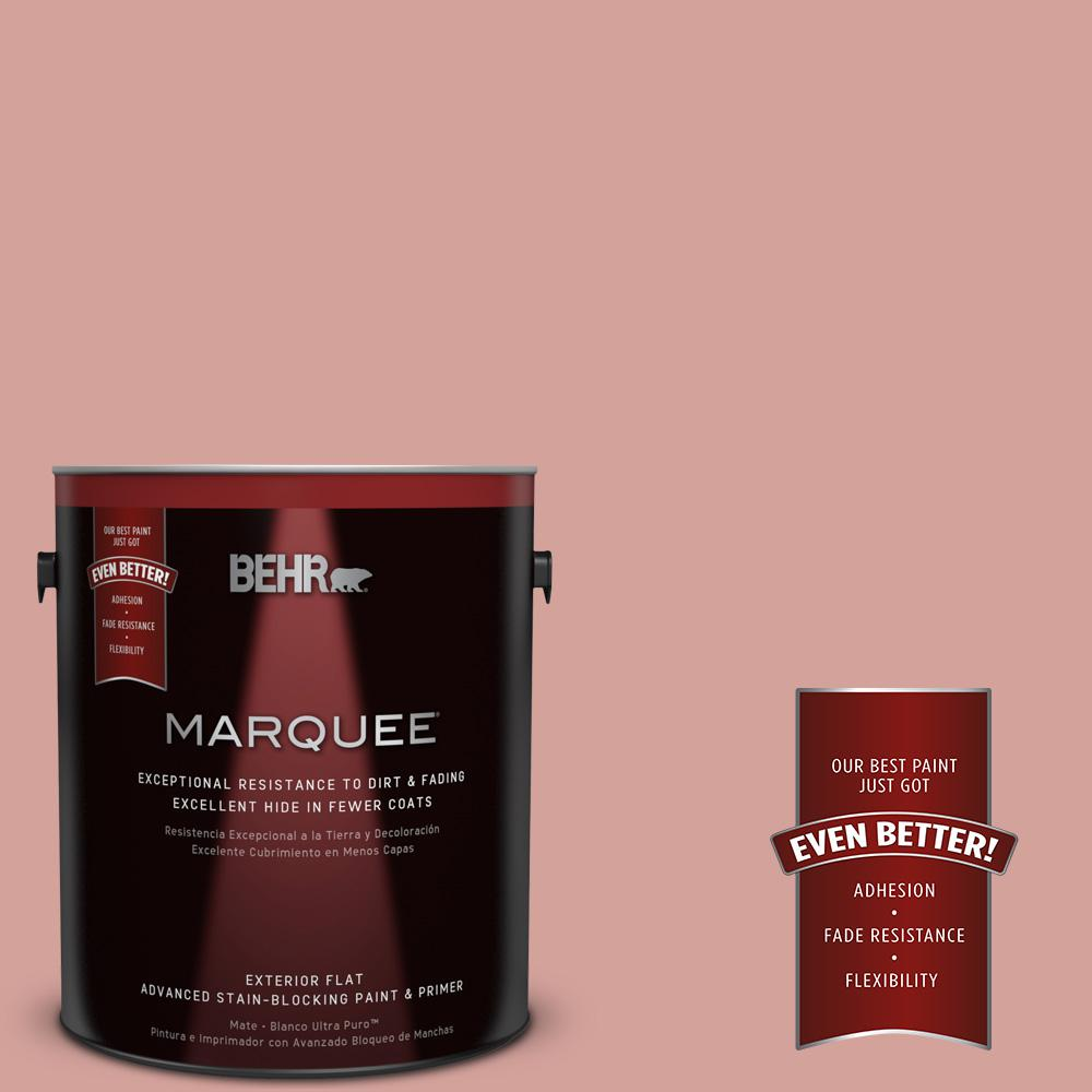 BEHR MARQUEE 1-gal. #S160-3 Bubble Shell Flat Exterior Paint