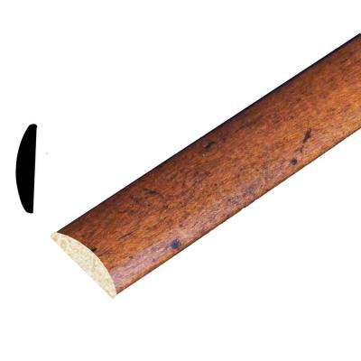 3/16 in. x 15/16 in. x 96 in. Polystyrene Whiskey Maple Batten Moulding (Pack of 5)