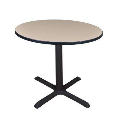 Cain Beige Round 42 in. Breakroom Table