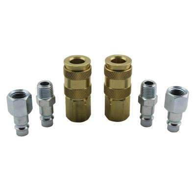 1/4 in. NPT V Style Coupler and Plug Kit