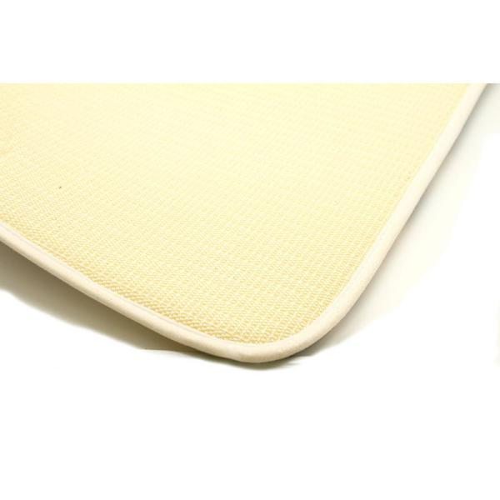 Microfiber Non Skid Bath Mat Rug Rectangular 29 5 Esl X 17 W Aqua Blue 7703147 The Home Depot