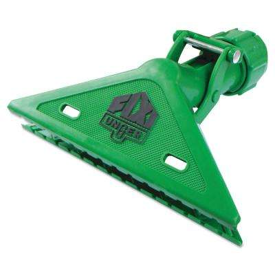 Fixi Clamp Plastic Squeegee Handle, Green