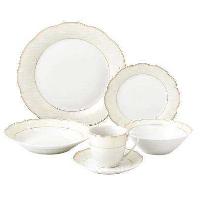 9862e6e796c3b Lorren Home Trends - Dinnerware Sets - Dinnerware - The Home Depot
