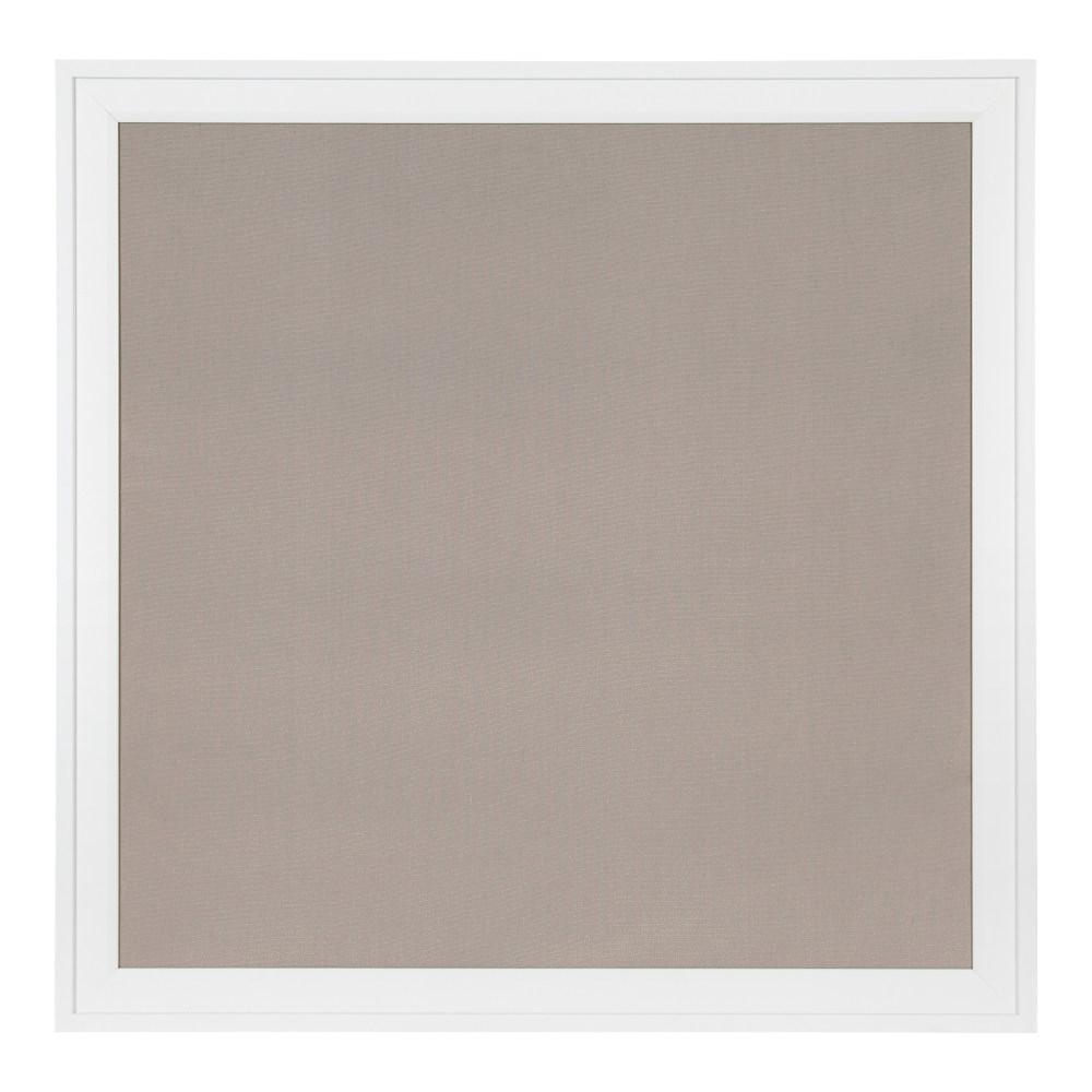 Bosc White Fabric Pinboard Memo Board
