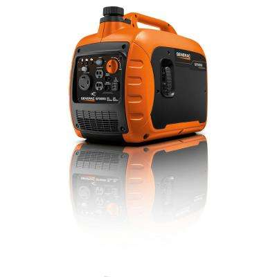 GP3000i 3000-Watt Gasoline Powered Recoil Start Inverter Generator Super Quiet with PowerRUSH Technology - 50 State/CSA