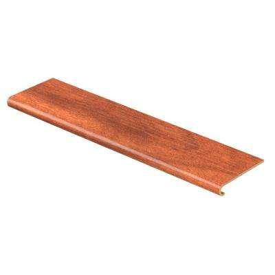 South American Cherry 47 in. Length x 12-1/8 in. Depth x 1-11/16 in. Height Laminate to Cover Stairs 1 in. Thick