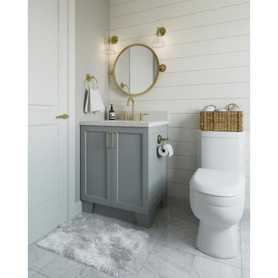 Taylor 30 in. W Vanity Cabinet Only in Grey