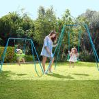 Small To Tall Swing Set Tp509 The Home Depot