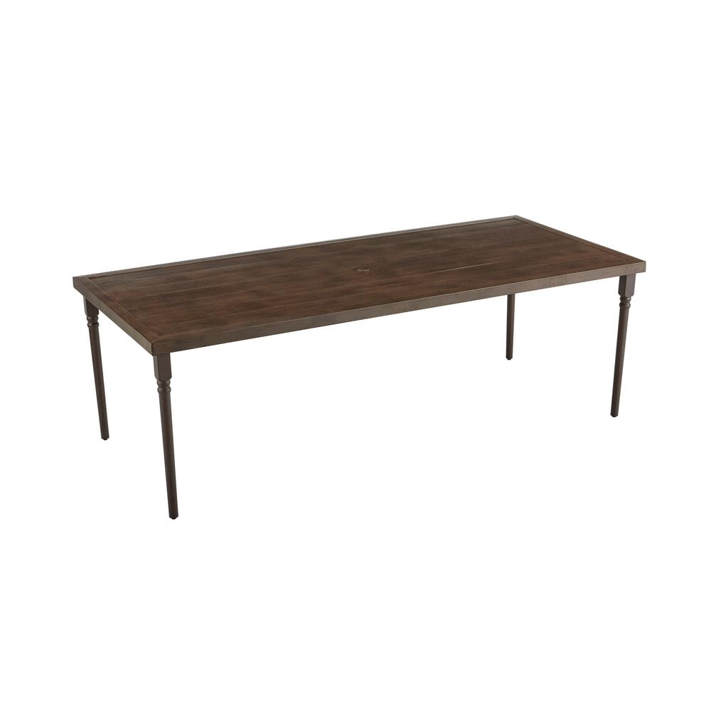 Lemon Grove Wicker Rectangle Outdoor Dining Table
